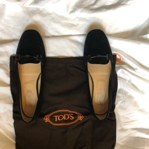 Tod's suede loafers - size 38
